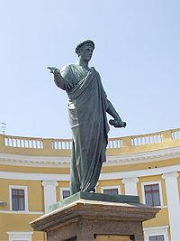 Statue of Duke de Richelieu - Odessa