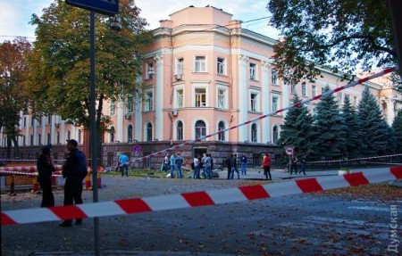 SBU building Odessa (Photo by Dumskaya)
