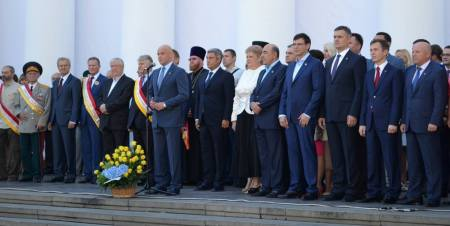 2nd Sept 2016 - Steps of Odessa City Hall