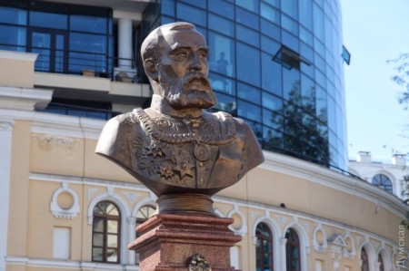 New monument to Grigorios Maraslis unveiled 2nd Sept 2016