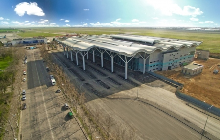 New Odessa airport terminal
