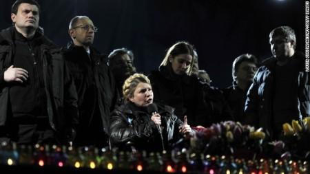 Dubrov, Yatseniuk, Tymoshenko Y, Tymoshenko E